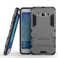 Odolný kryt na mobil Samsung Galaxy J5 (2016) - šedý