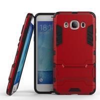 Odolný kryt na mobil Samsung Galaxy J5 (2016) - červený