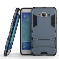 Odolný kryt na mobil Samsung Galaxy J5 (2016) - šedomodrý
