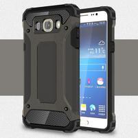 Armor 2v1 odolný obal na Samsung Galaxy J5 (2016) - tmavěšedý