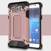 Armor 2v1 odolný obal na Samsung Galaxy J5 (2016) - růžový