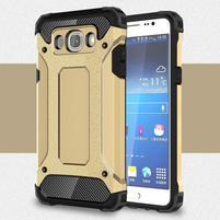 Armor 2v1 odolný obal na Samsung Galaxy J5 (2016) - zlatý