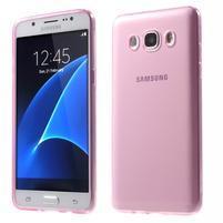 Ultratenký slim gelový obal na Samsung Galaxy J5 (2016) - růžový