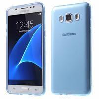 Ultratenký slim gelový obal na Samsung Galaxy J5 (2016) - modrý