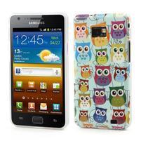 Softy gelový obal na mobil Samsung Galaxy S2 - sovičky