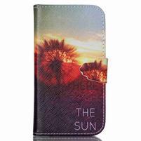 Emotive peněženkové pouzdro na Samsung Galaxy S3 - východ slunce
