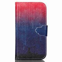 Emotive peněženkové pouzdro na Samsung Galaxy S3 - meteory
