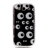 Gelový obal na mobil Samsung Galaxy S3 - kukuč