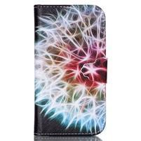 Emotive peněženkové pouzdro na Samsung Galaxy S3 - odkvetlá pampeliška