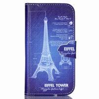 Emotive peněženkové pouzdro na Samsung Galaxy S3 - Eiffelova věž