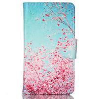 Emotive pouzdro na mobil Samsung Galaxy S3 mini - kvetoucí švestka