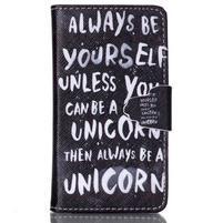 Emotive pouzdro na mobil Samsung Galaxy S3 mini - unicorn