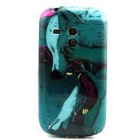 Gelový obal na mobil Samsung Galaxy S3 mini - vlci