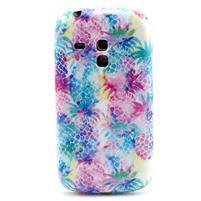Gelový obal na mobil Samsung Galaxy S3 mini - barevné ananasy