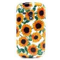 Gelový obal na mobil Samsung Galaxy S3 mini - slunečnice