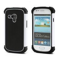 Outdoor odolný obal na mobil Samsung Galaxy S3 mini - bílý