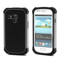 Outdoor odolný obal na mobil Samsung Galaxy S3 mini - šedý