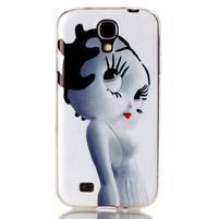 Softy gelový obal na mobil Samsung Galaxy S4 - kočička