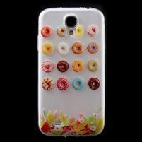 Slim gelový obal na mobil Samsung Galaxy S4 - donuts