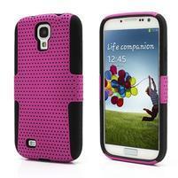 Odolný obal na mobil Samsung Galaxy S4 - rose