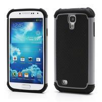 Outdoor odolný silikonový obal na Samsung Galaxy S4 - šedý