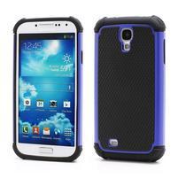 Outdoor odolný silikonový obal na Samsung Galaxy S4 - tmavěmodrý