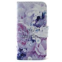 Diaryleather pouzdro na mobil Samsung Galaxy S4 mini - beatiful