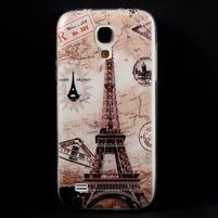 Gelový obal na mobil Samsung Galaxy S4 mini - Eiffelova věž