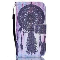 Diary peněženkové pouzdro na mobil Samsung Galaxy S4 mini - dream
