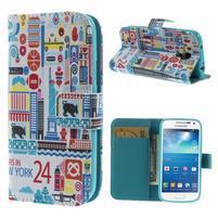 Style peněženkové pouzdro na Samsung Galaxy S4 mini - New York
