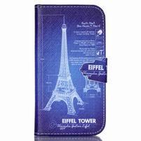 Emotive peněženkové pouzdro na Samsung Galaxy S4 mini - Eiffelova věž