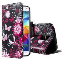 Ochranné pouzdro na mobil Samsung Galaxy S5 - motýlci