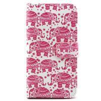 Pouzdro na mobil Samsung Galaxy S5 - sloni
