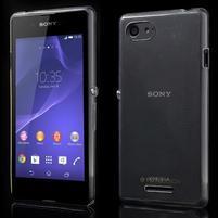 Ultratenký obal na mobil Sony Xperia E3 - transparentní