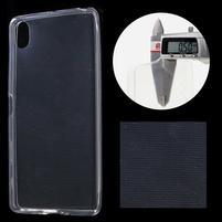 Ultratenký 0.5 mm gelový obal na Sony Xperia X - transparentní