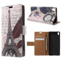Emotive pouzdro na mobil Sony Xperia XA - Eiffelova věž