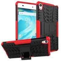 Outdoor odolný obal na mobil Sony Xperia XA - červený