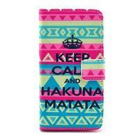 Pouzdro na mobil Sony Xperia Z1 Compact - Keep Calm