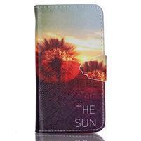 Emotive knížkové pouzdro na Sony Xperia Z3 Compact - východ slunce