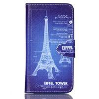 Emotive knížkové pouzdro na Sony Xperia Z3 Compact - Eiffelova věž