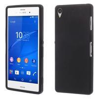 Silikonový obal na mobil Sony Xperia Z3 - černý
