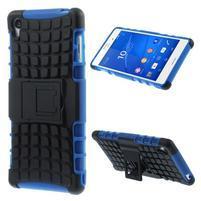 Outdoor ochranný kryt na mobil Sony Xperia Z3 - modrý