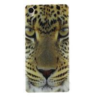 Gelový obal na mobil Sony Xperia Z3 - leopard