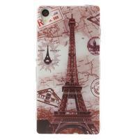 Ultratenký gelový obal na mobil Sony Xperia Z3 - Eiffelova věž