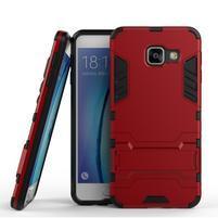Outdoor odolný kryt na mobil Samsung Galaxy A3 (2016) - červený
