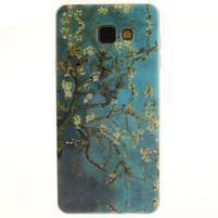 Silk gelový kryt na mobil Samsung Galaxy A3 (2016) - rozkvetlý strom
