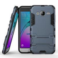 Outdoor odolný obal na Samsung Galaxy J3  (2016) - tmavěmodré