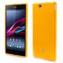 JellyGospery gelový obal na mobil Sony Xperia Z Ultra - žlutý