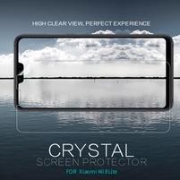 Crystal ochranná fólie na mobil Xiaomi Mi 8 Lite - černý lem