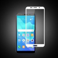 MCL ochranné celoplošné tvrzené sklo na Huawei Y5 (2018) a Honor 7s - bílé